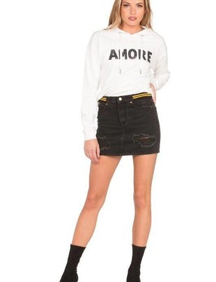 sweaters Amore Sweater With Hoodie