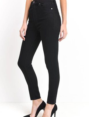 High Rise Crop Skinny