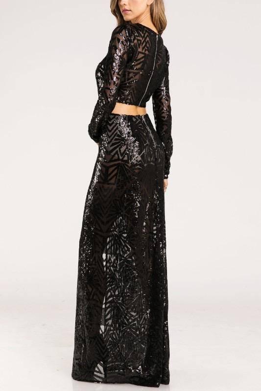 Skirt Antonella Sequin Skirt