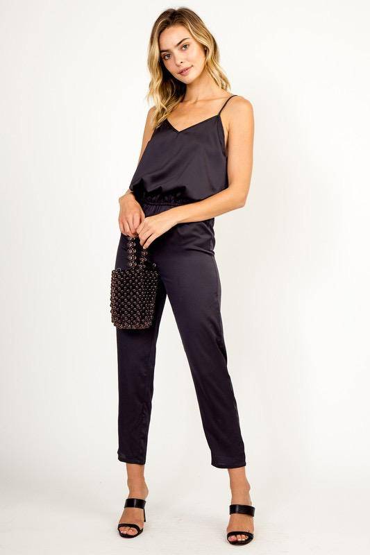 Jumpsuits Jazmin Satin Jumpsuit