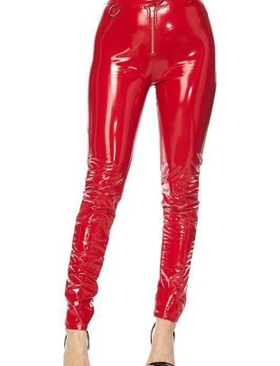 Bottoms Jeanie Patent Faux Leather Pants