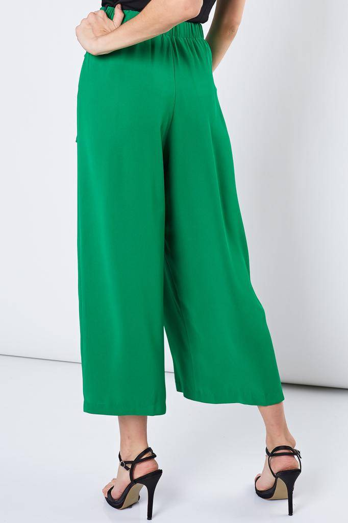 Bottoms Cristhel Tie Front Crop Pants