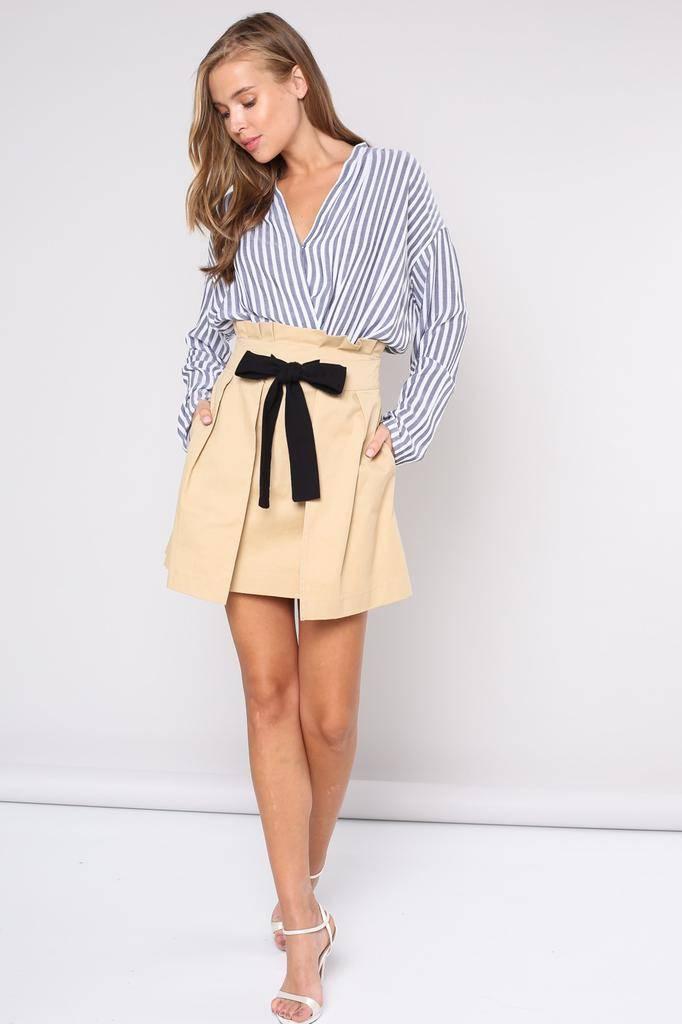 Skirt Idania Paper Bag Skirt