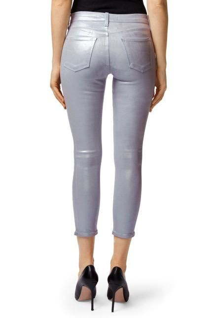 Jeans Mid-Rise Cropped Skinny