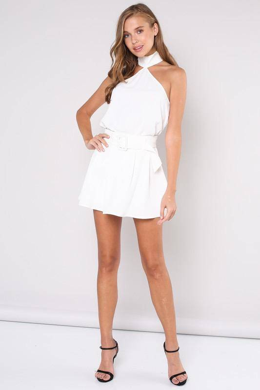 tops Gineth Halter Neck Top
