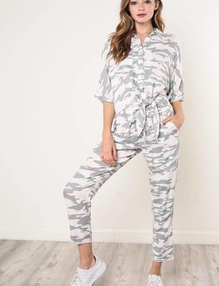Bottoms Mathilda Soft Camouflage Pants