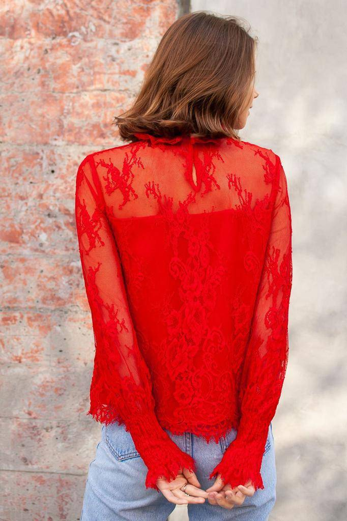 tops Belize Lace Blouse