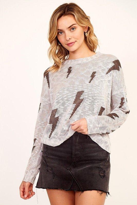 sweaters Lighting Bolt Sweater