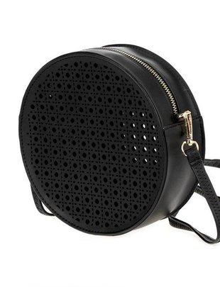 Handbags Round Cut Out Handbag W/Strap