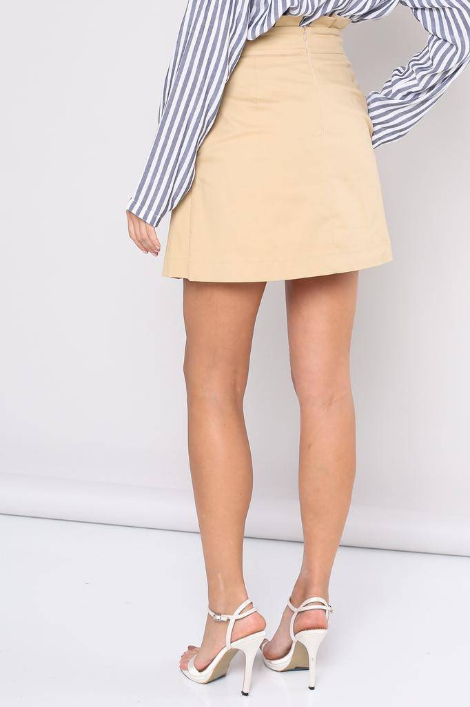 Skirt Idania Paper Bag Skirt