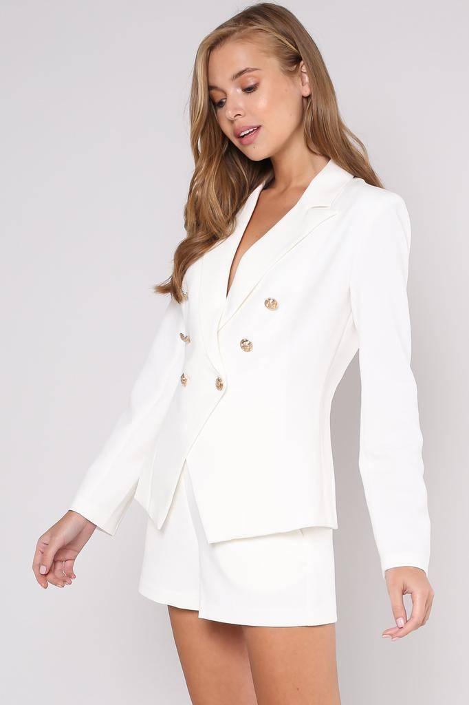 jackets Anahi Gold Button Jacket