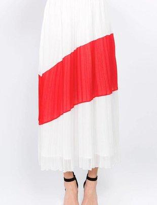 Skirt Sydney Pleated Midi skirt
