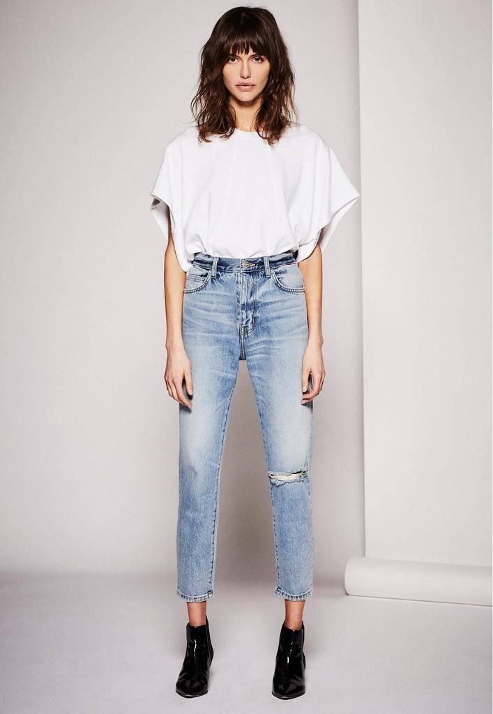 Premium denim The Vintage Cropped Slim Jean