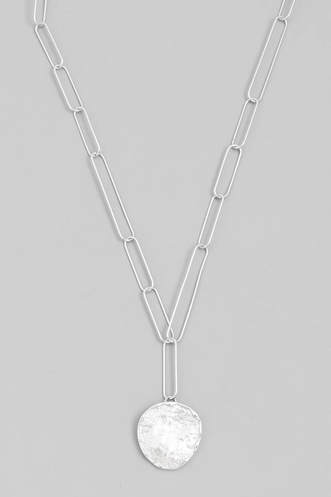 neckleces Hammered Coin Necklace