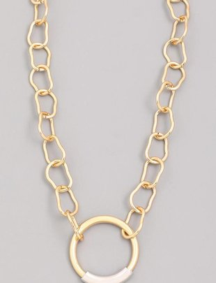 neckleces Nate Circle Necklace