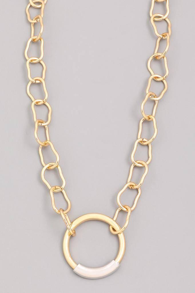 neckleces Nate Circle Necklace