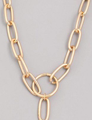 neckleces Chunky Chain Necklace