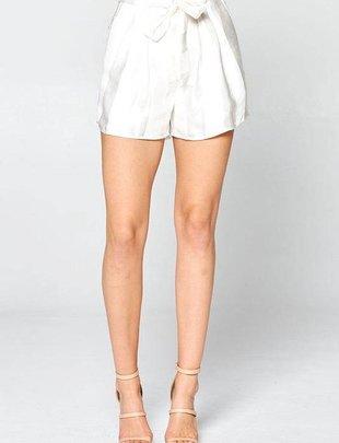shorts Jenny Satin Paperbag Shorts