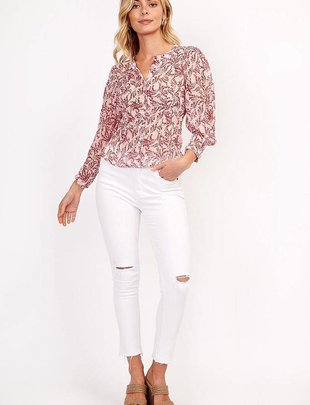 tops Jordyn Long Sleeve Blouse