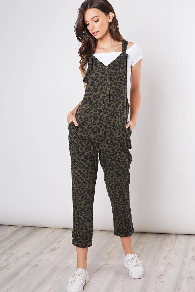 Jumpsuits Casbah Animal Print Overall