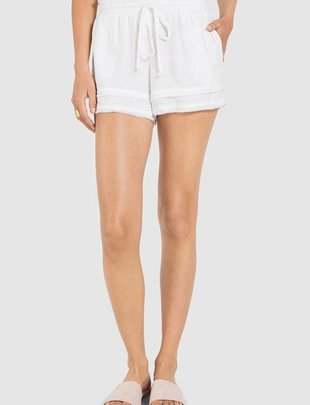 shorts Ayla Fray Hem Short