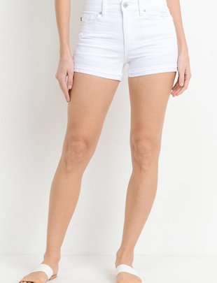 shorts High Rise released Cuffed Shorts
