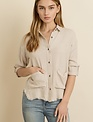 Shirt Carina Fringed Hem Shirt