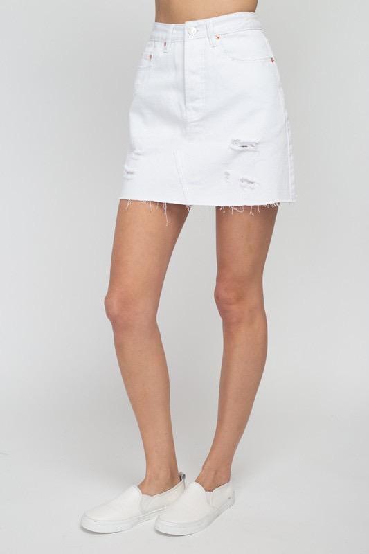 Skirt Antonia Destroyed Skirt