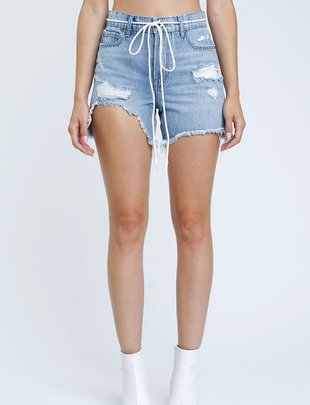 shorts Devin High Rise Mom Cut off