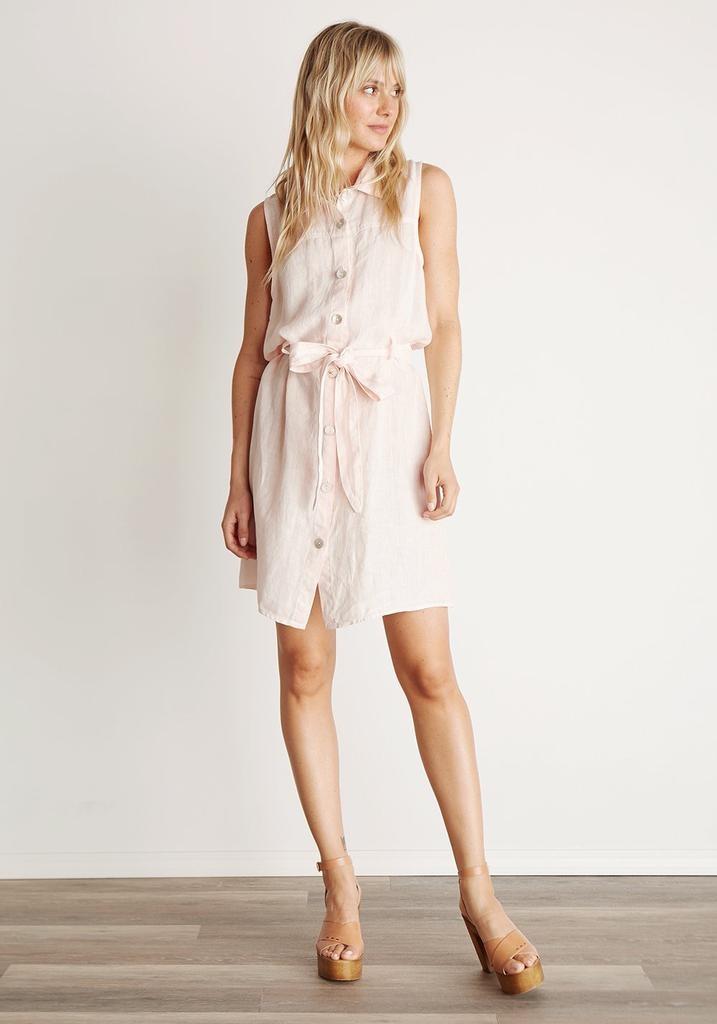 dresses S/L Belted Shirt Dress