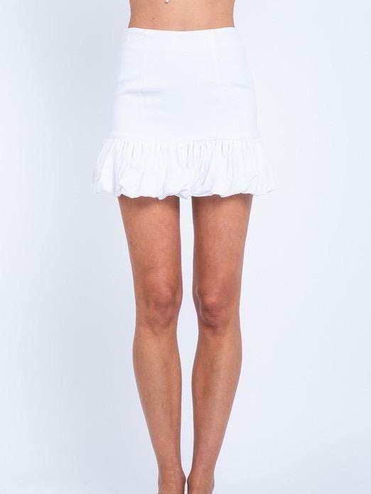 Skirt Tilos Ruffle Mini Skirt