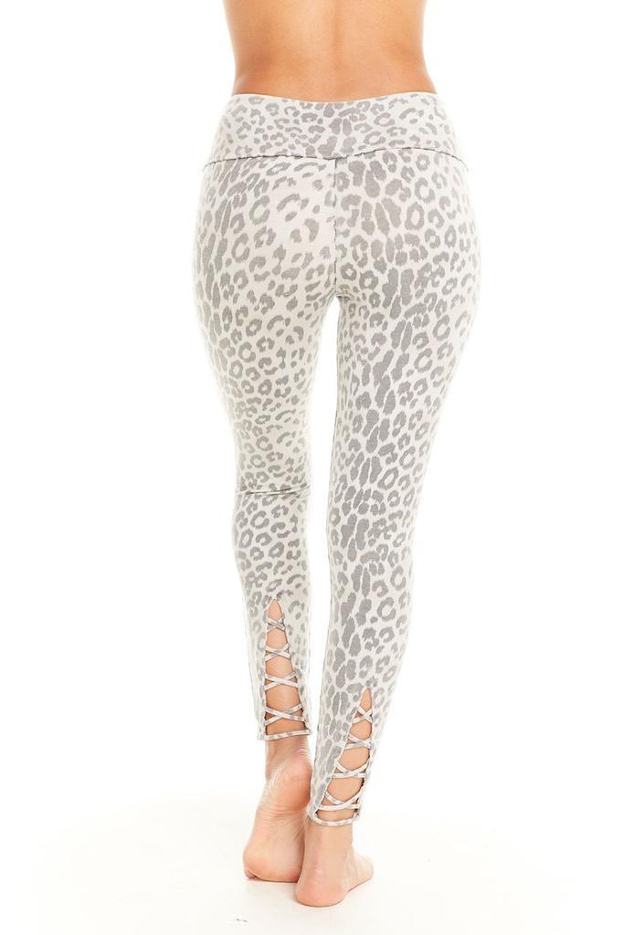 Bottoms Lace Up Back Leggings