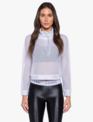 Active wear Pump Open Mesh Pullover