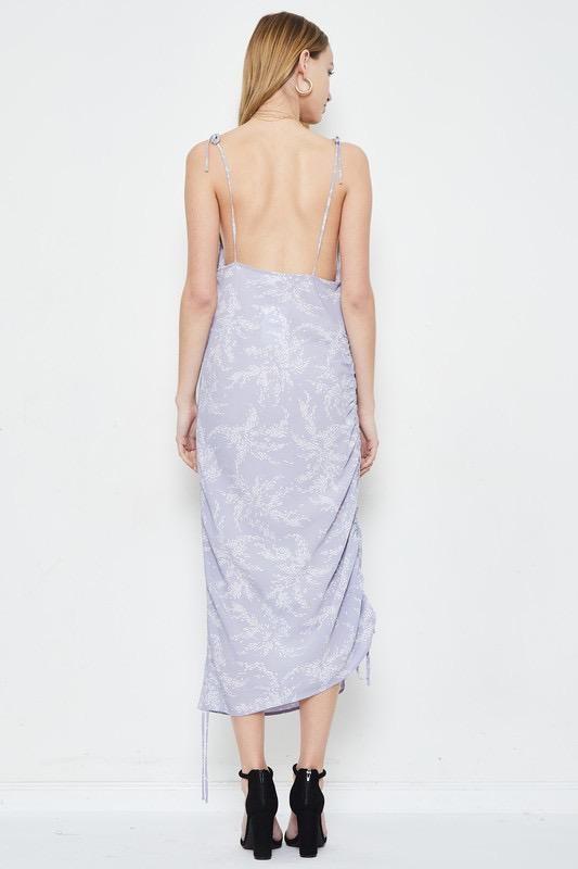 dresses Elena Cinched Midi Dress