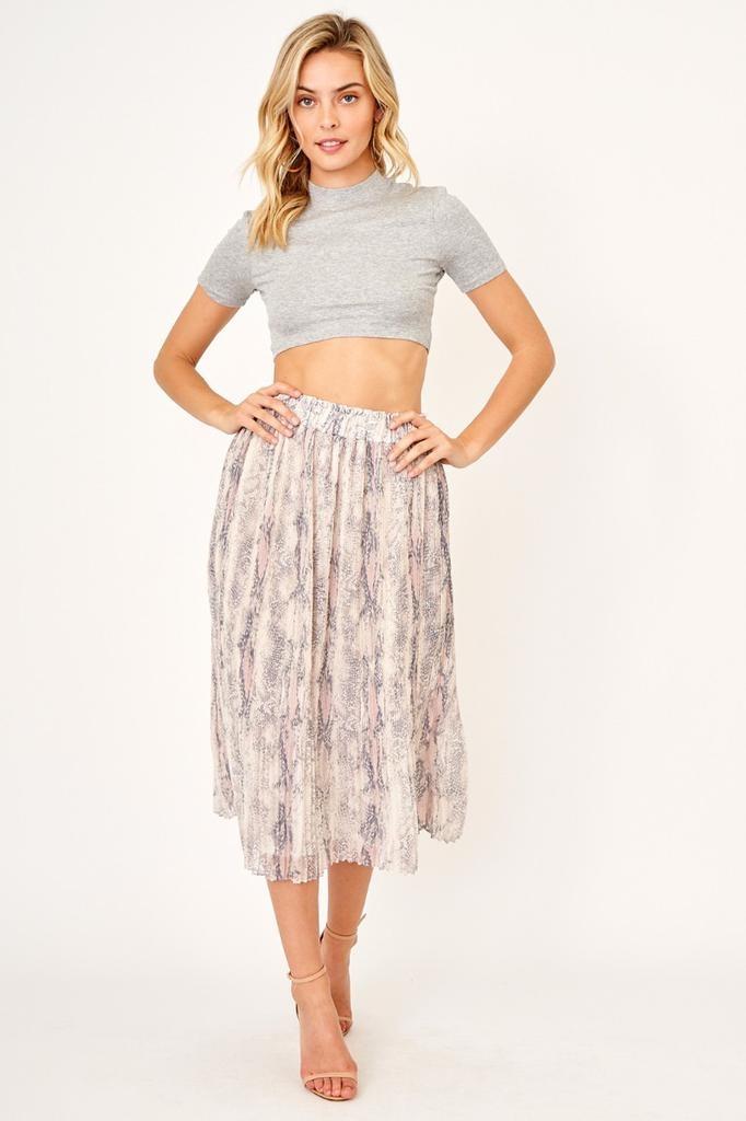 Skirt Snake Midi Skirt