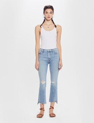 Premium denim The Insider Crop Step Fray
