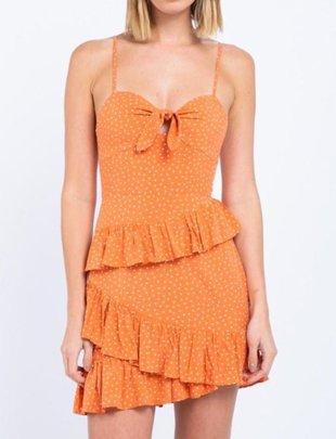 dresses Grace Ruffle Mini Dress