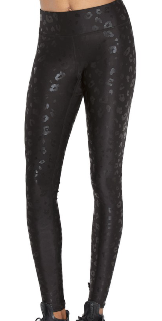 Foil Printed Tall Band Leggings