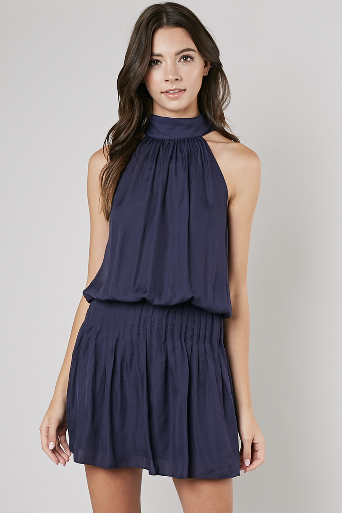Baldwin Mock Tie Dress