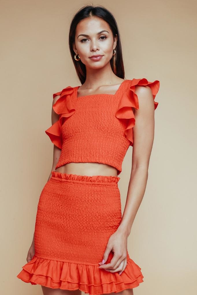 Aolani  Ruffle Skirt