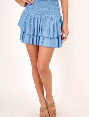 Polkadot Ruffle Skirt