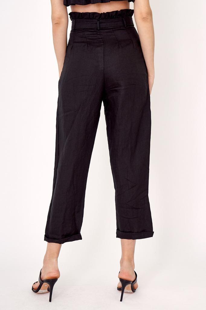 Moni Linen Belted Pant
