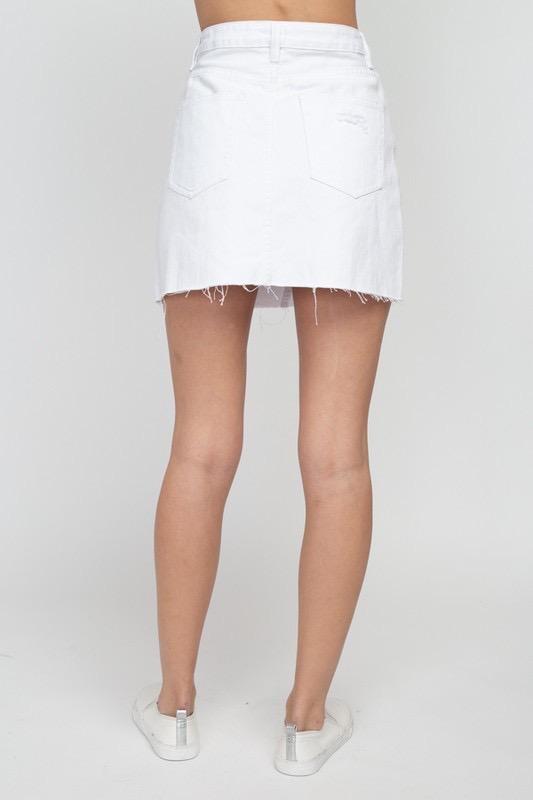Antonia Destroyed Skirt