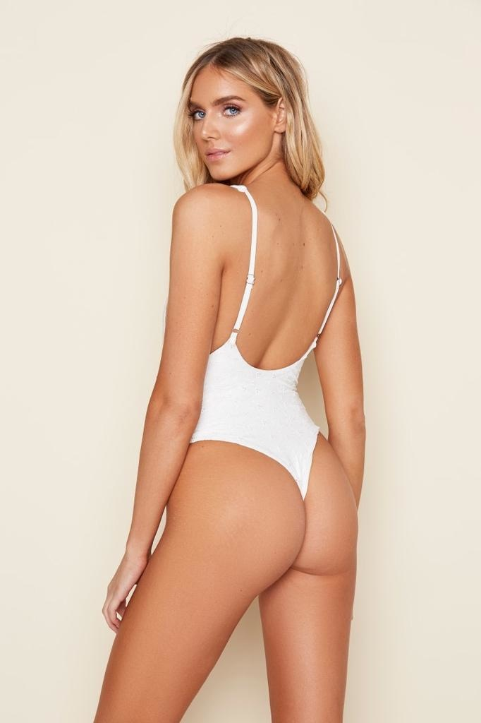 Low Back Thong One Piece