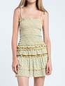 Evie Smocked Ruffle Mini Dress