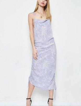 Elena Cinched Midi Dress