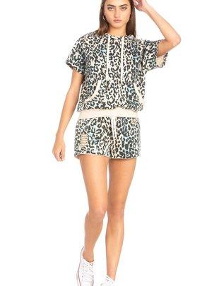 Ebonee Animal Print Shorts