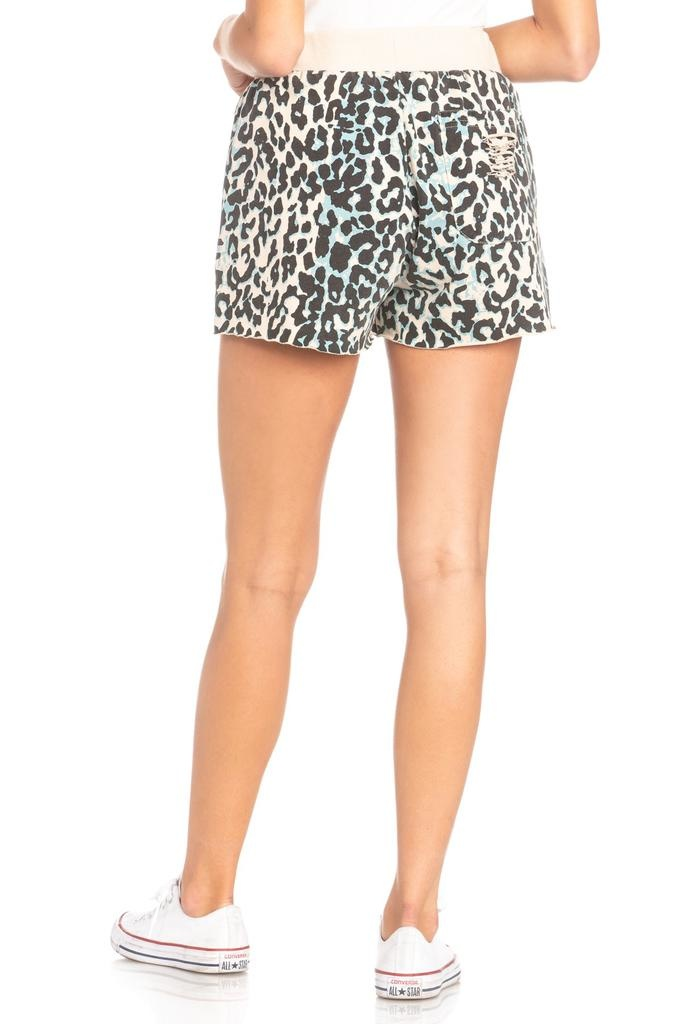 Ebonee Animal Print Shorts