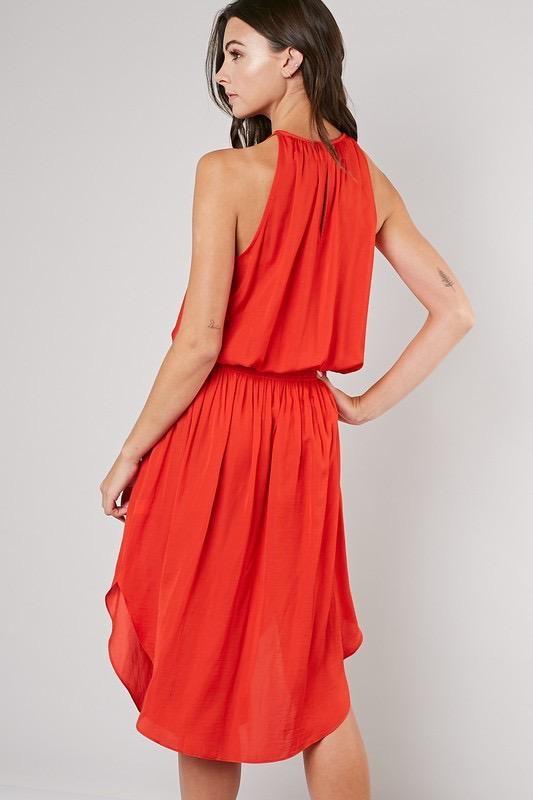 Badan Sleeveless Dress