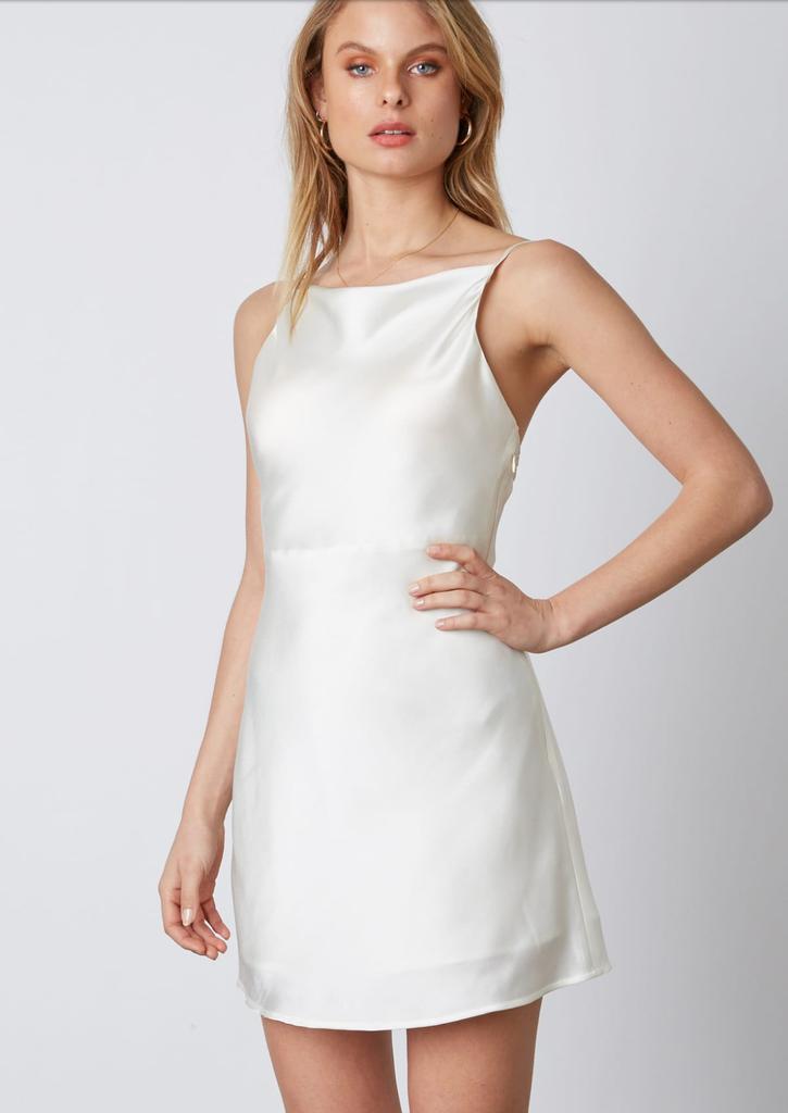 Alice Satin Strap Dress